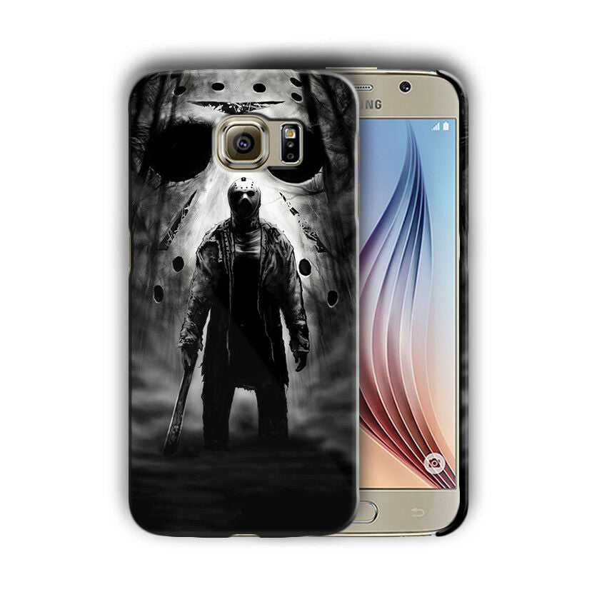 Halloween Jason Samsung Galaxy S4 5 6 7 8 9 10 E Edge Note 3 - 10 Plus Case n8