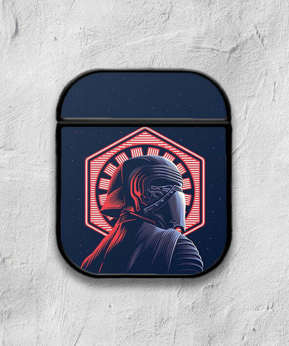 Star Wars Kylo Ren case for AirPods 1 or 2 protective cover skin