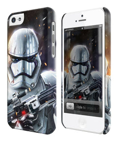 Star Wars Stormtrooper Iphone 4 4s 5 5s 5c 6 6S 7 + Plus Case Cover 133