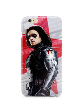Load image into Gallery viewer, Civil War Winter Soldier Iphone 4s 5s 5c SE 6S 7 8 X XS Max XR Plus Case 9