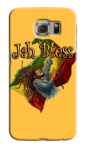 Jamajca Flag Jah Bless Samsung Galaxy S4 S5 S6 Edge Note 3 4 Case Cover