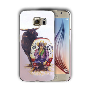 Rodeo Cowboy Bull Samsung Galaxy S4 5 6 7 8 Edge Note 3 4 5 Plus Case 11