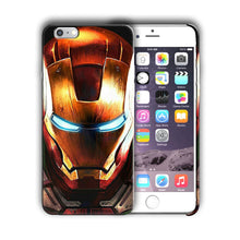 Load image into Gallery viewer, Super Hero Iron Man Iphone 4 4s 5 5s SE 6 6s 7 8 X XS Max XR 11 Pro Plus Case n6