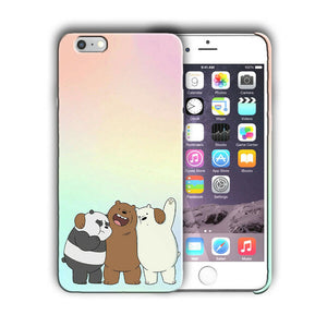 Animation We Bare Bears Iphone 4s 5 5s 5c SE 6 6s 7 8 X XS Max XR Plus Case 08