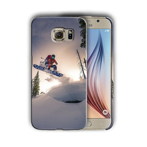 Extreme Snowboarding Galaxy S4 5 6 7 8 9 10 E Edge Note 3 4 5 8 9 Plus Case 05