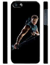 Load image into Gallery viewer, Hawkeye Avengers Iphone 4s 5 5s 5c 6 6S 7 8 X Plus Cover Case Comics Marvel Kids