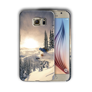 Extreme Sports Skiing Samsung Galaxy S4 S5 S6 S7 Edge Note 3 4 5 Plus Case 06