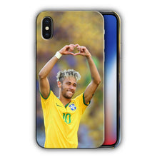 Load image into Gallery viewer, Neymar JR Brazil Soccer Iphone 4 4S 5 5s 5c 6 6S 7 8 X XS Max XR Plus SE Case 5