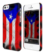 Load image into Gallery viewer, Puerto Rico Symbol Flag Boricua iPhone 4 4S 5 5S 5c 6 6S 7 + Plus Case Cover ip2