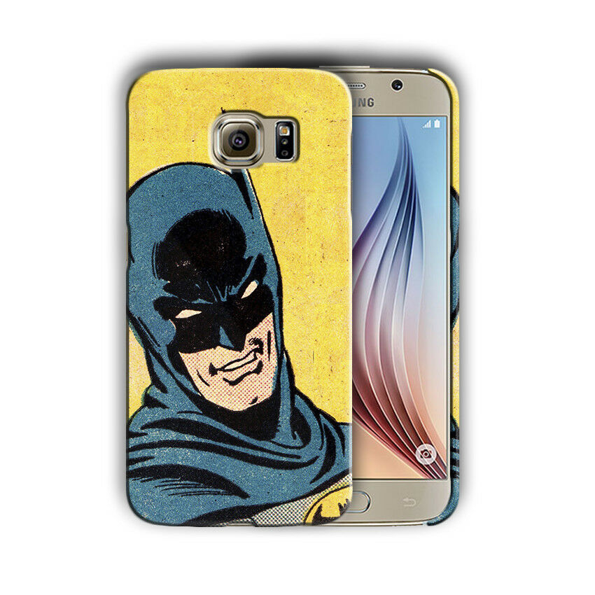 Super Hero Batman Samsung Galaxy S4 S5 S6 S7 S8 Edge Note 3 4 5 8 Plus Case nn4