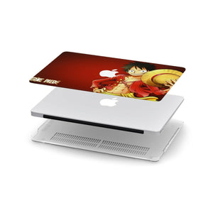 Anime One Piece Luffy MacBook case for Mac Air Pro M1 13 16 Cover Skin SN164