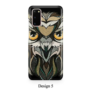 Geometric animal case for Galaxy s20 s20+ Ultra s10 s10+ s9 s8 s7 S6 Edge SN