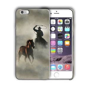 Rodeo Cowboy Lasso Horse Iphone 4s 5 5s 5c SE 6 6s 7 8 X XS Max XR Plus Case 12