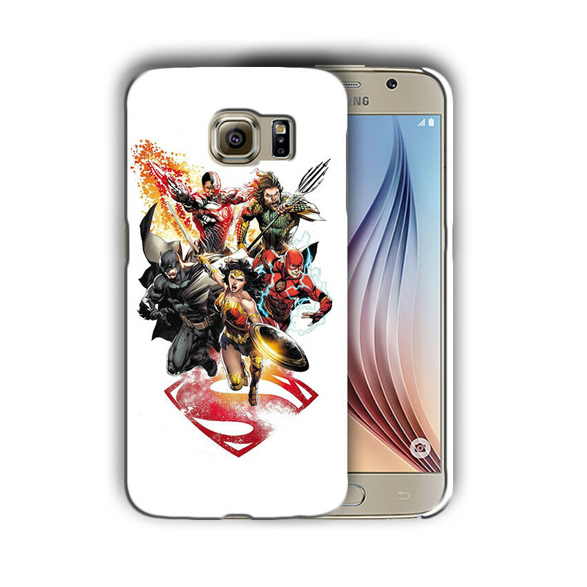 Justice League Batman Samsung Galaxy S4 5 6 7 8 Edge Note 3 4 5 8 Plus Case 3