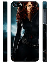 Load image into Gallery viewer, Black Widow Avengers Iphone 4 4s 5 5s 5c 6 6S + Plus Cover Case Comics Marvel