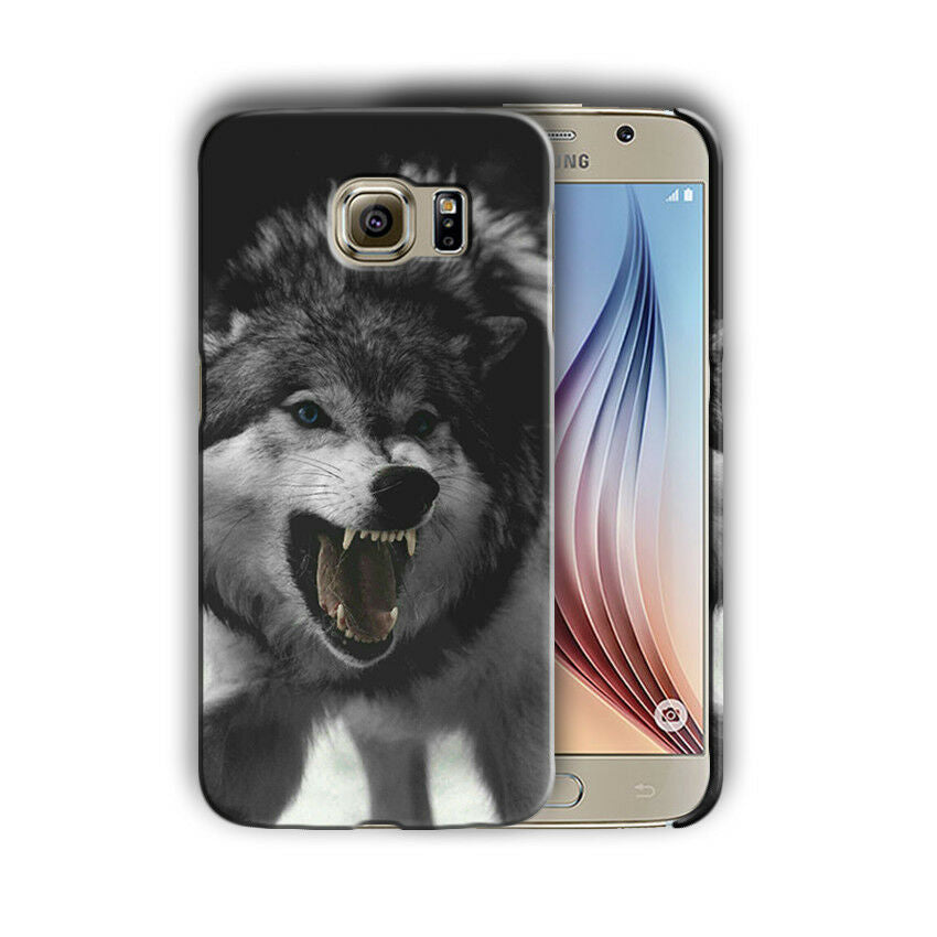 Animals Wolf Samsung Galaxy S4 S5 S6 S7 S8 Edge Note 3 4 5 8 + Plus Case n4