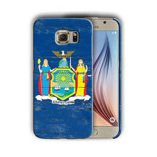 Load image into Gallery viewer, New York Symbols Flag Samsung Galaxy S4 S5 S6 S7 Edge Note 3 4 5 Plus Case 04