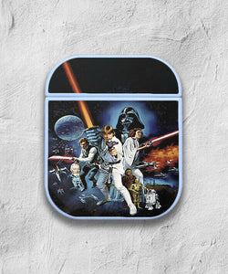 Star Wars Characters case for AirPods 1 or 2 protective cover skin 01