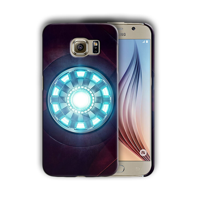 Super Hero Iron Man Samsung Galaxy S4 5 6 7 8 9 10 E Edge Note Plus Case n4
