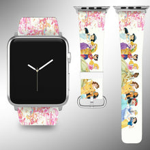 Load image into Gallery viewer, Princess Apple Watch Band SE 44 40 38 42 mm Series 6 5 3 4 2 iWatch Strap