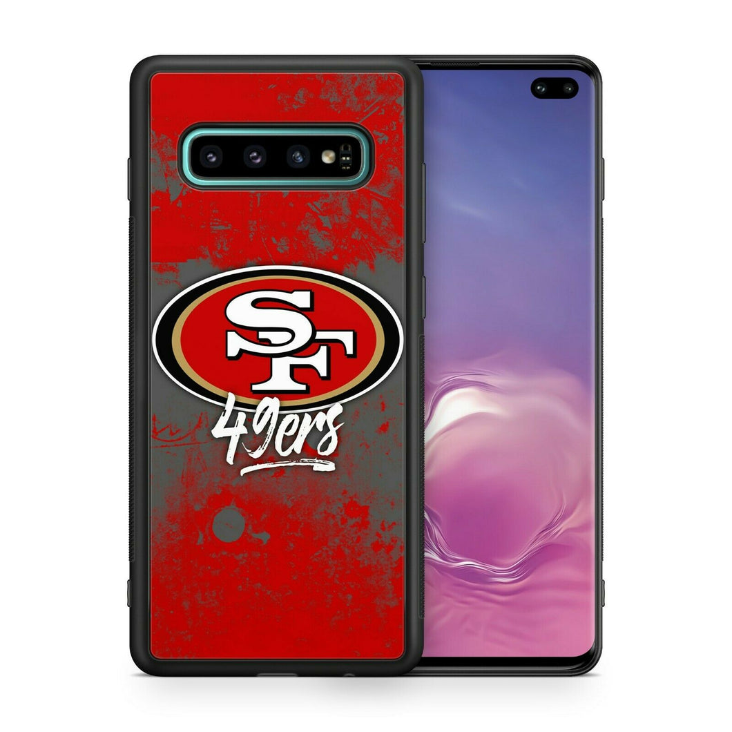 San Francisco 49ers TPU bumper case for Galaxy S10 E S9 plus note 5 S6 S5 S8 S7