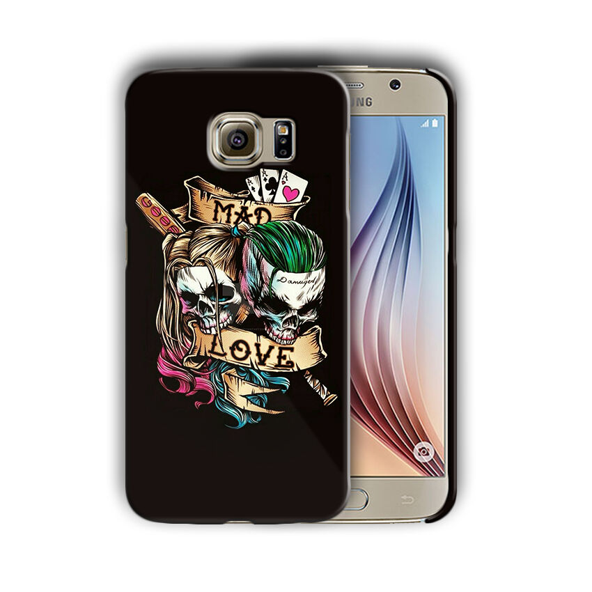 Super Villain Joker Samsung Galaxy S4 5 6 7 8 9 10 E Edge Note Plus Case n6