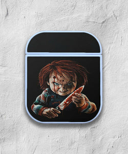 Halloween Chucky Horror case for AirPods 1 or 2 protective cover skin