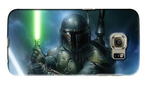 Star Wars Boba Fett Samsung Galaxy S4 S5 S6 S7 S8 Edge Note 3 4 5 + Plus Case 23