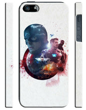 Load image into Gallery viewer, Captain America: Civil War Iphone 4 4s 5 5s 5c 6 6S 7 + Plus Case Cover 24