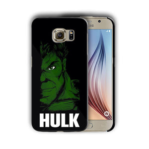 Super Hero Hulk Samsung Galaxy S4 5 6 7 8 9 10 E Edge Note 3 - 10 Plus Case n10
