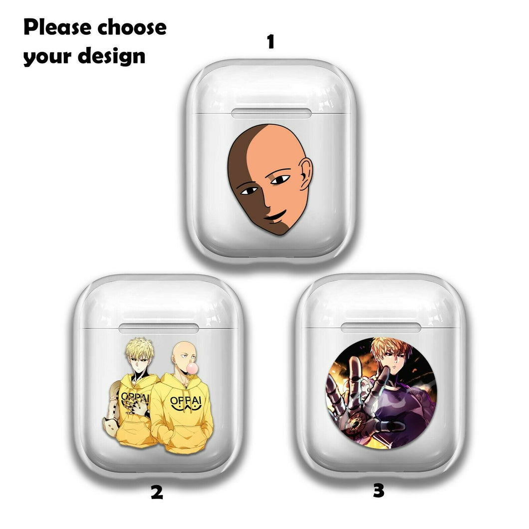 Anime One Punch Man Silicone Case for AirPods 1 2 3 Pro gel clear cover SN 213