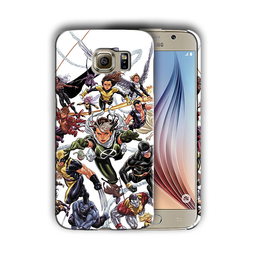 X-Men Superheroes Samsung Galaxy S4 S5 S6 S7 S8 Edge Note 3 4 5 Plus Case Cover