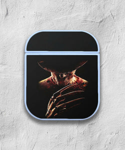Halloween Freddy Krueger case for AirPods 1 or 2 protective cover skin 03