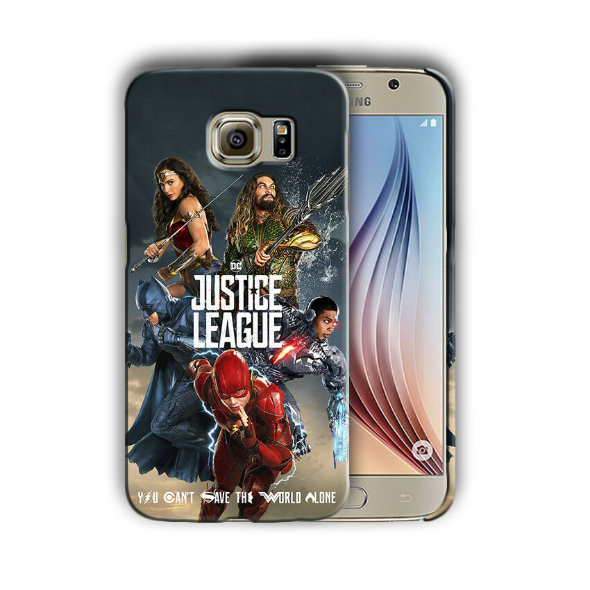 Justice League Batman Samsung Galaxy S4 5 6 7 8 9 10 E Edge Note Plus Case 4