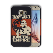 Load image into Gallery viewer, Star Wars Stormtrooper Samsung Galaxy S5 7 6 8 9 10 E Edge Note 3 - 10 Plus Case