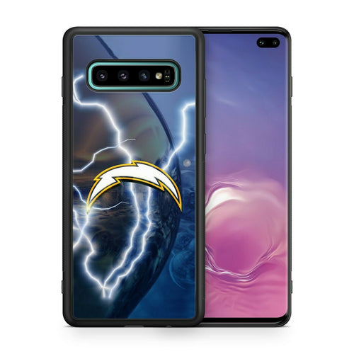 San Diego Chargers TPU bumper case for Galaxy S10 E S9 plus note 5 S5 S6 S7 S8