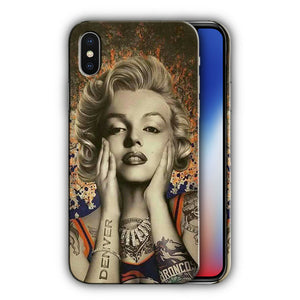Denver Broncos Case for Iphone 8 7 6 11 Pro Plus and other models Cover n7