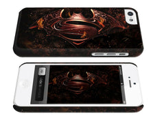 Load image into Gallery viewer, Iphone 4s 5s 5c 6 6S 7 8 X XS Max XR Plus Case Cover Superman Batman Logo ip13