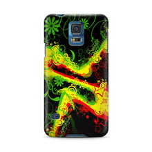 Load image into Gallery viewer, Jamajca Symbol Rasta Samsung Galaxy S4 S5 S6 Edge Note 3 4 Case Cover