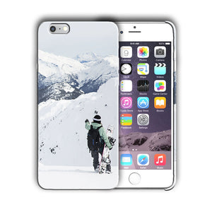 Extreme Sports Snowboarding Iphone 4 4s 5 5s 5c SE 6 6s 7 + Plus Case Cover 02