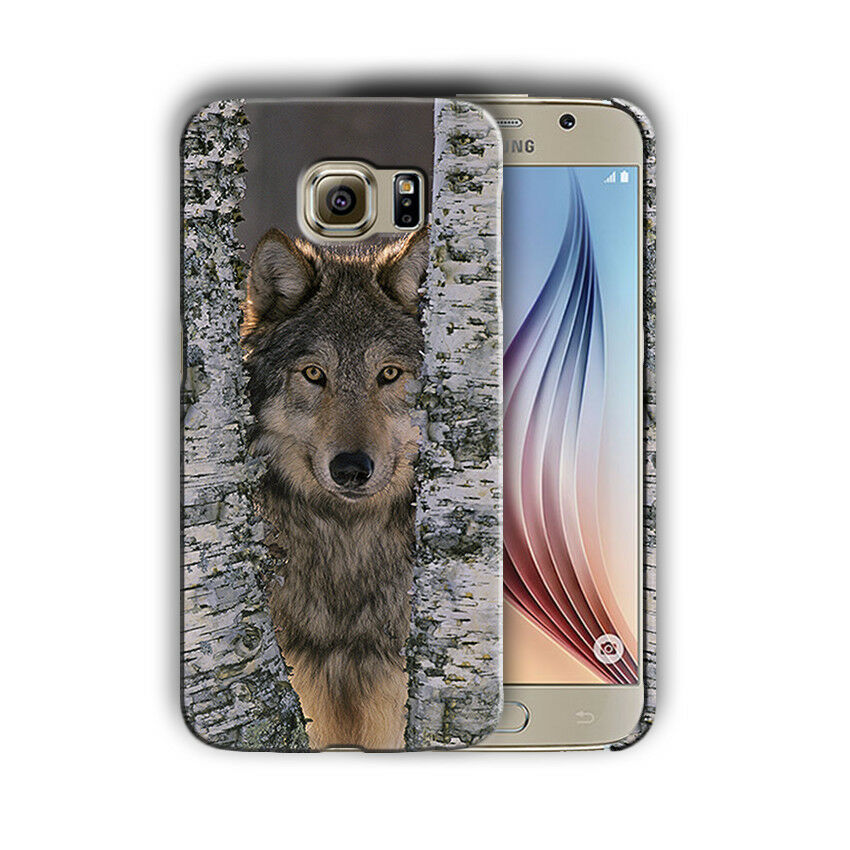 Animals Wolf Samsung Galaxy S4 S5 S6 S7 S8 Edge Note 3 4 5 8 + Plus Case n3