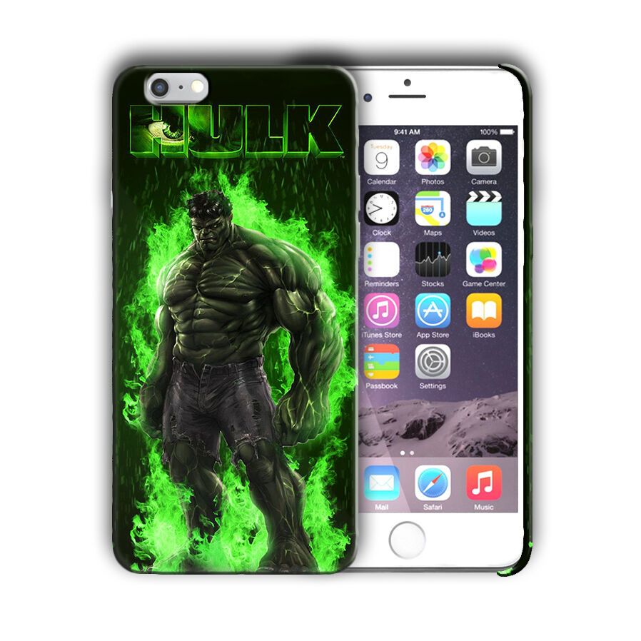 Super Hero Hulk Iphone 4s 5 5s SE 6 6s 7 8 X XS Max XR 11 Pro Plus Case Cover n4