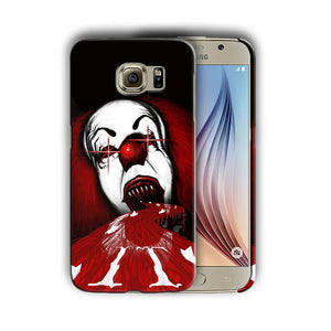 Halloween Pennywise Samsung Galaxy S5 6 7 8 9 10 E Edge Note 3 - 10 Plus Case 12