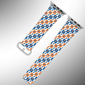 Florida Gators Apple Watch Band 38 40 42 44 mm Fabric Leather Strap 3