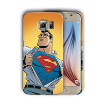 Load image into Gallery viewer, Super Hero Superman Samsung Galaxy S4 S5 S6 S7 S8 Edge Note 3 4 5 Plus Case n5