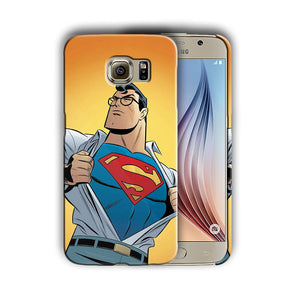 Super Hero Superman Samsung Galaxy S4 S5 S6 S7 S8 Edge Note 3 4 5 Plus Case n5