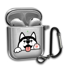 Load image into Gallery viewer, Cute Dogs Best Silicone Case for AirPods 1 2 3 Pro gel clear cover SN 176