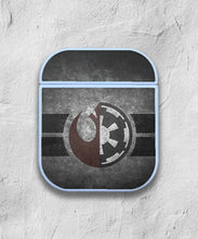 Load image into Gallery viewer, Star Wars Logos and Symbols case for AirPods 1 or 2 protective cover skin