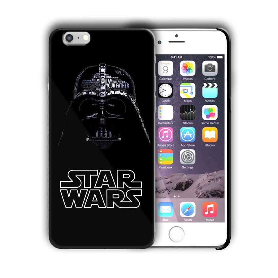Star Wars Darth Vader Iphone 4s 5 SE 6 7 8 X XS Max XR 11 Pro Plus Case n27