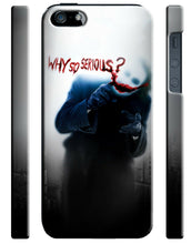 Load image into Gallery viewer, Iphone 4s 5s 5c 6 6S 7 8 X XS Max XR Plus Case The Joker Why So Serious Batman